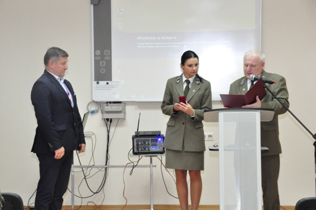 Ilustracja do informacji: Szkolenie obronne w Rogozińcu