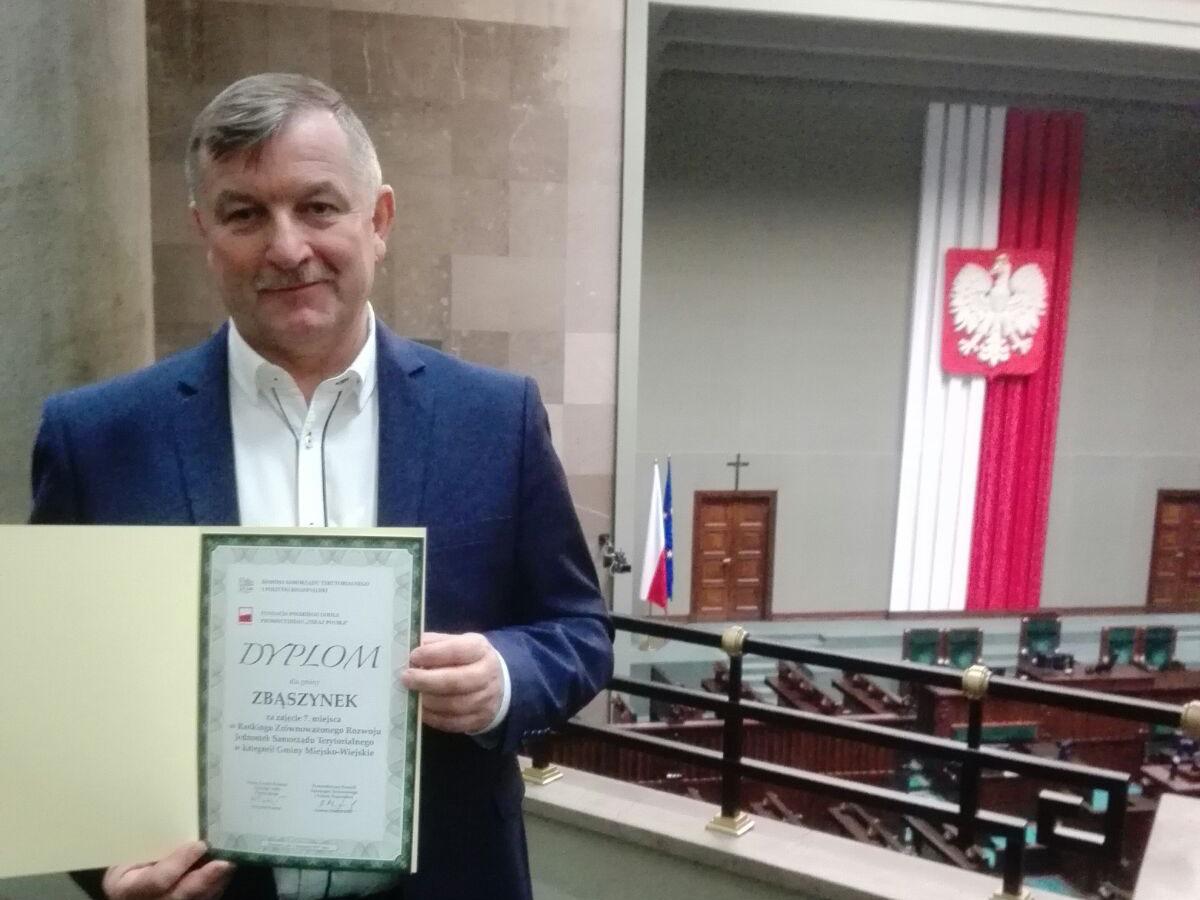 Ilustracja do informacji: Gmina Zbąszynek na 7 miejscu w Polsce!!!