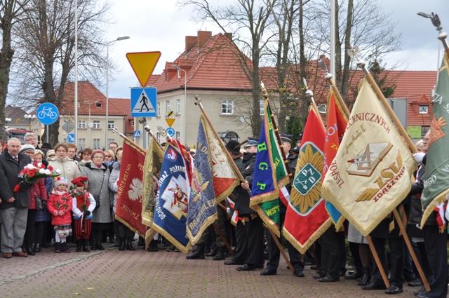 Ilustracja do informacji: Dzień Niepodległości w Zbąszynku