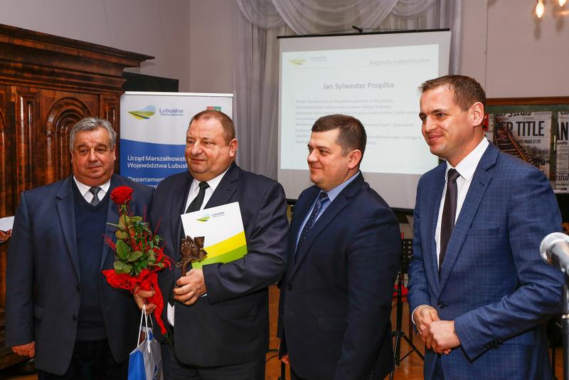 Ilustracja do informacji: Wręczenie Nagród Kulturalnych Marszałka Województwa Lubuskiego