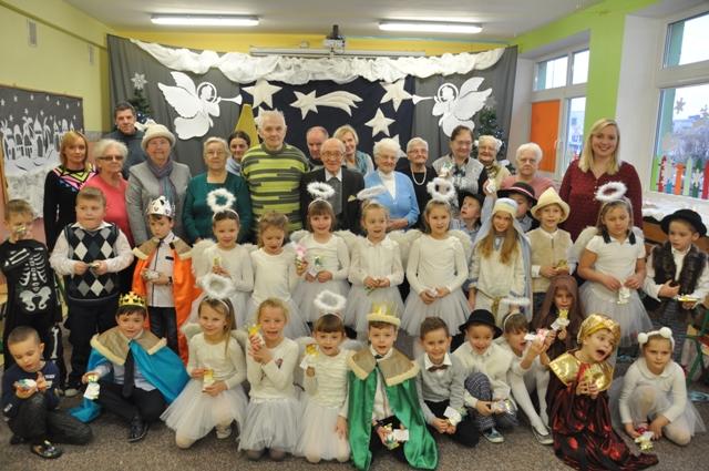 Ilustracja do informacji: Uroczyste Jasełka w Przedszkolu w Zbąszynku