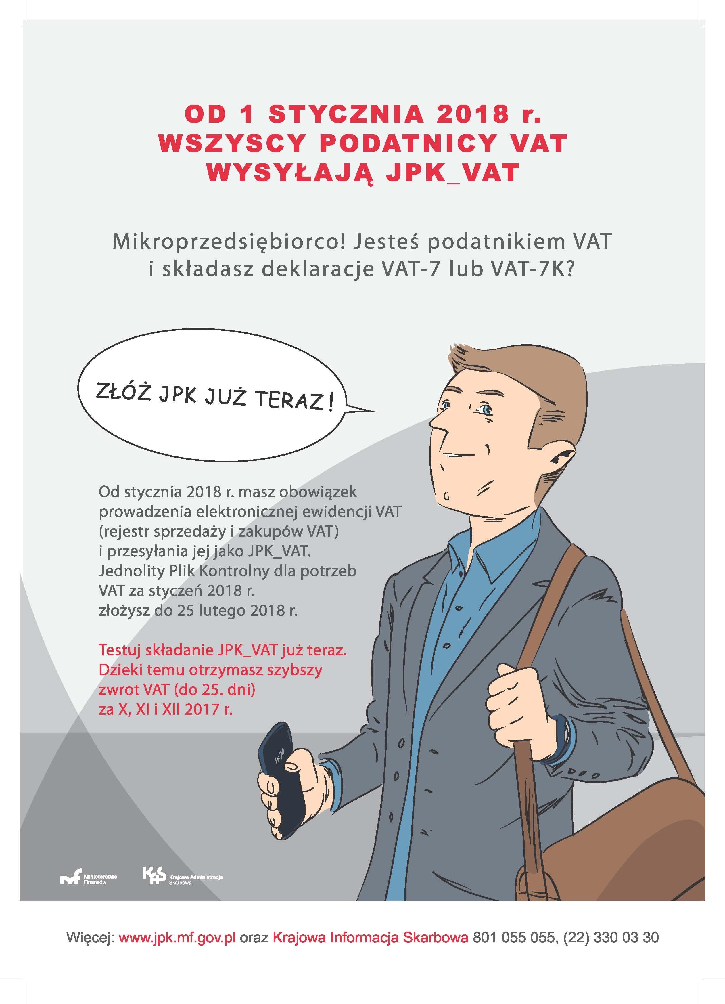 Ilustracja do informacji: Ważne informacje dla przedsiębiorców – JPK_VAT i Profil Zaufany (eGo)