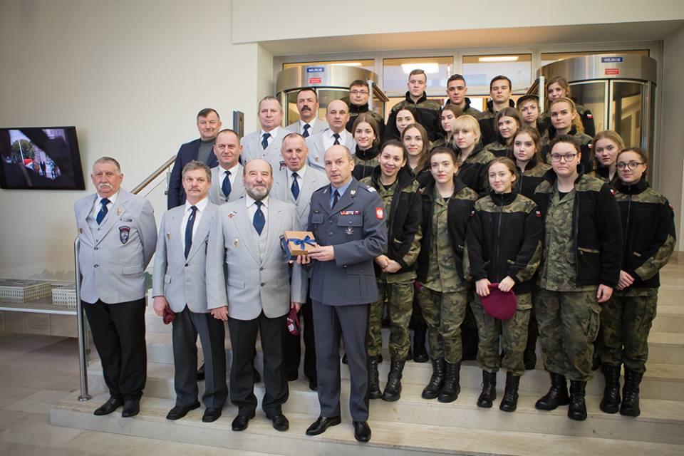 Ilustracja do informacji: Wizyta uczniów CKZiU w Warszawie