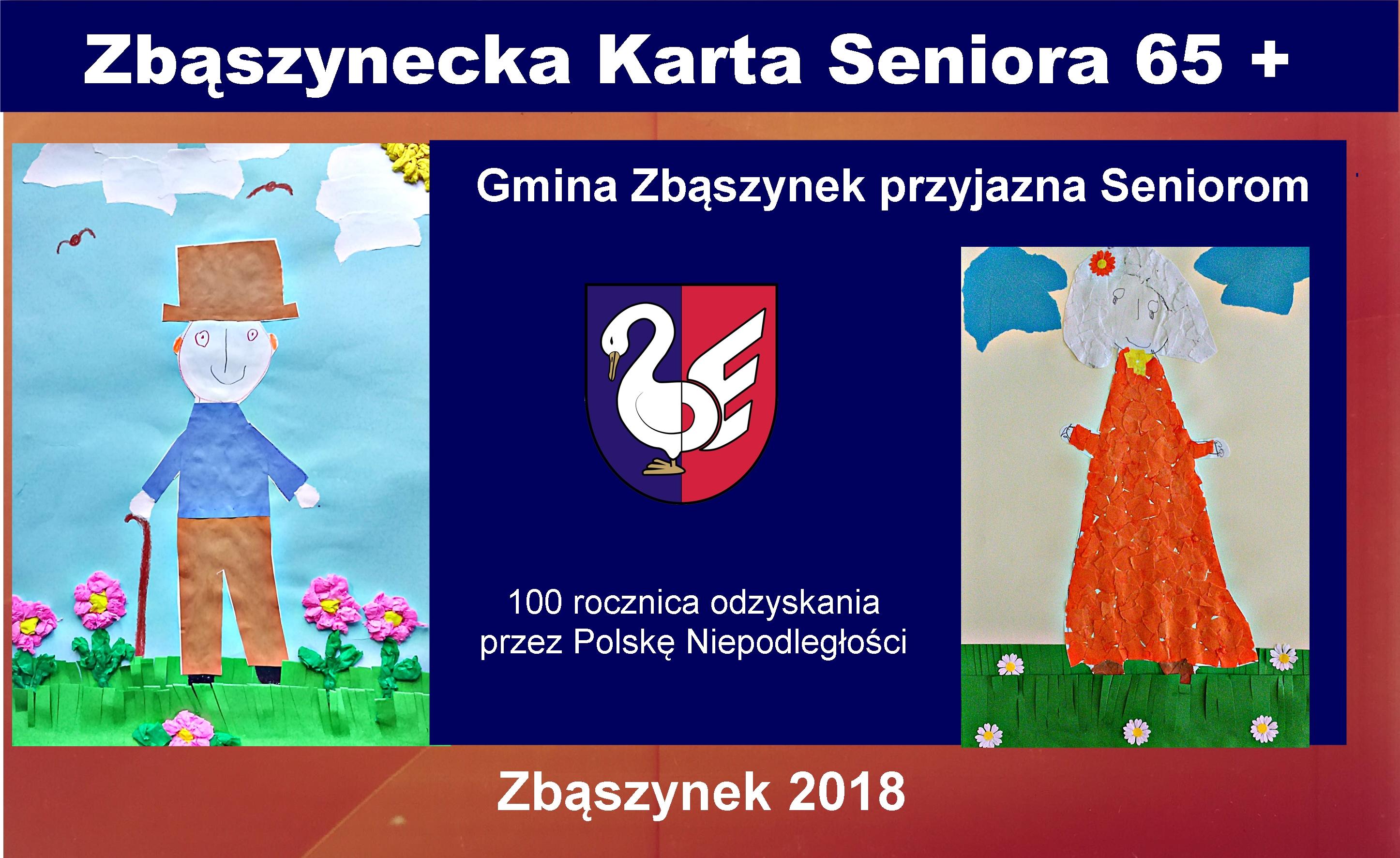 Ilustracja do informacji: Zbąszynecka Karta Seniora 65+