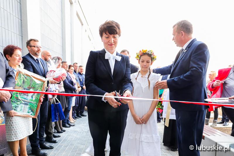 Ilustracja do informacji: Nowoczesny dom kultury i urząd gminy Lubrza już otwarty