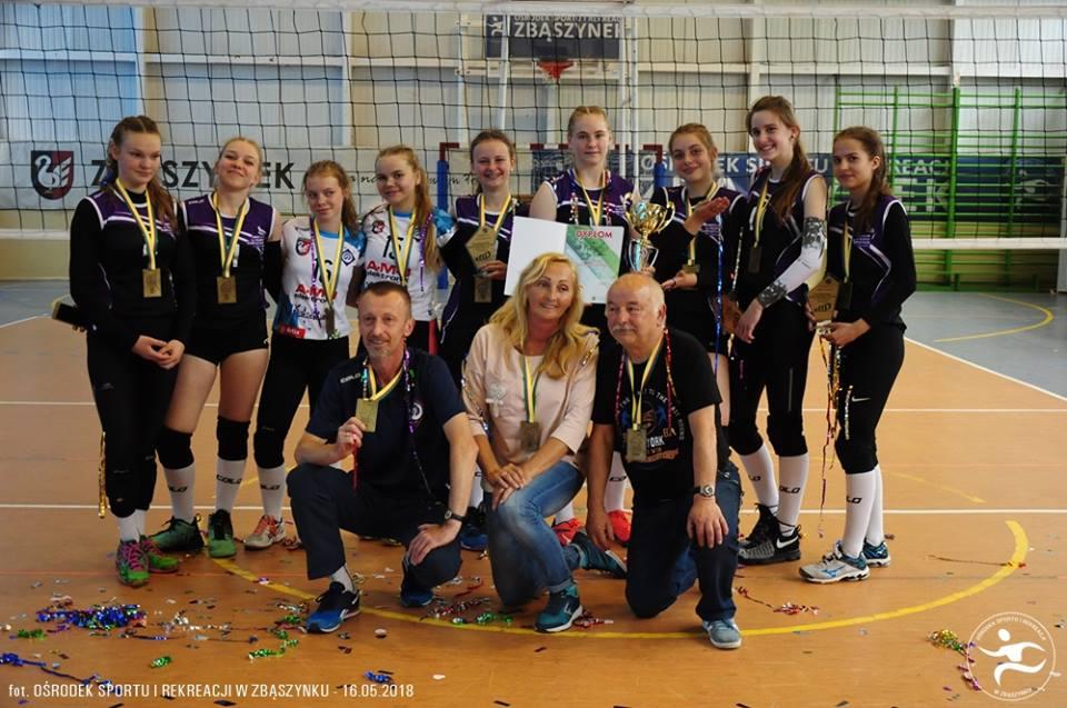 Ilustracja do informacji: Finał Wojewódzki Igrzysk Młodzieży Szkolnej w piłce siatkowej dziewcząt