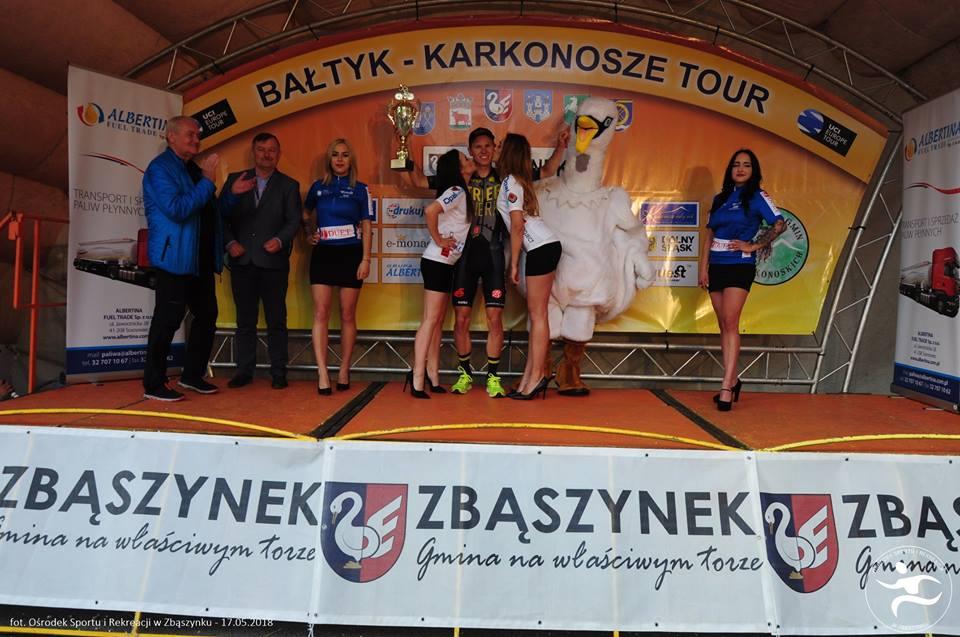 """Ilustracja do informacji: XXVI Międzynarodowy Wyścig Kolarski Bałtyk - Karkonosze II etap, """"Zbąszynek na rowery"""""""