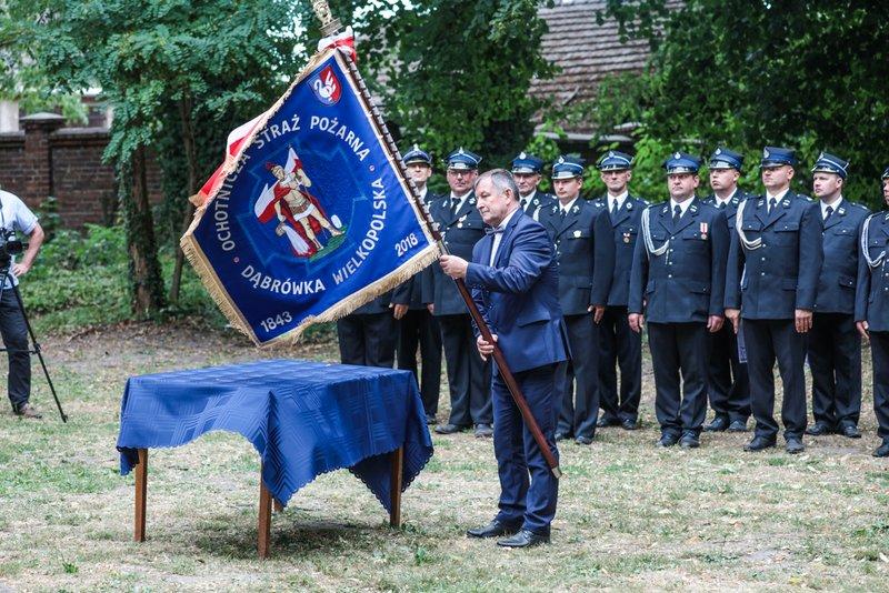 Ilustracja do informacji: 175-lecie Ochotniczej Straży Pożarnej w Dąbrówce Wlkp.