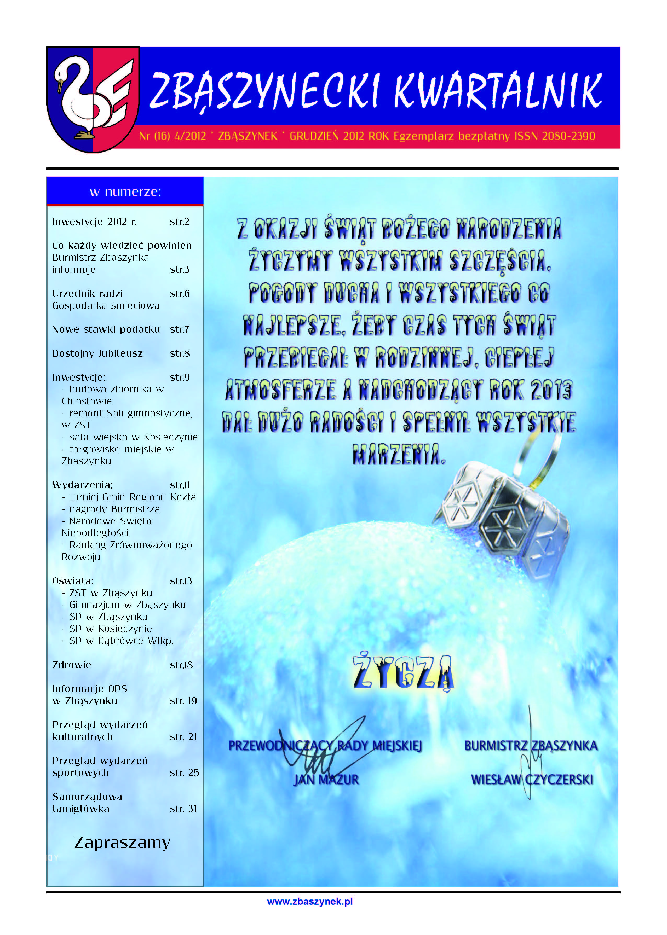 Ilustracja do informacji: Nr 4/2012