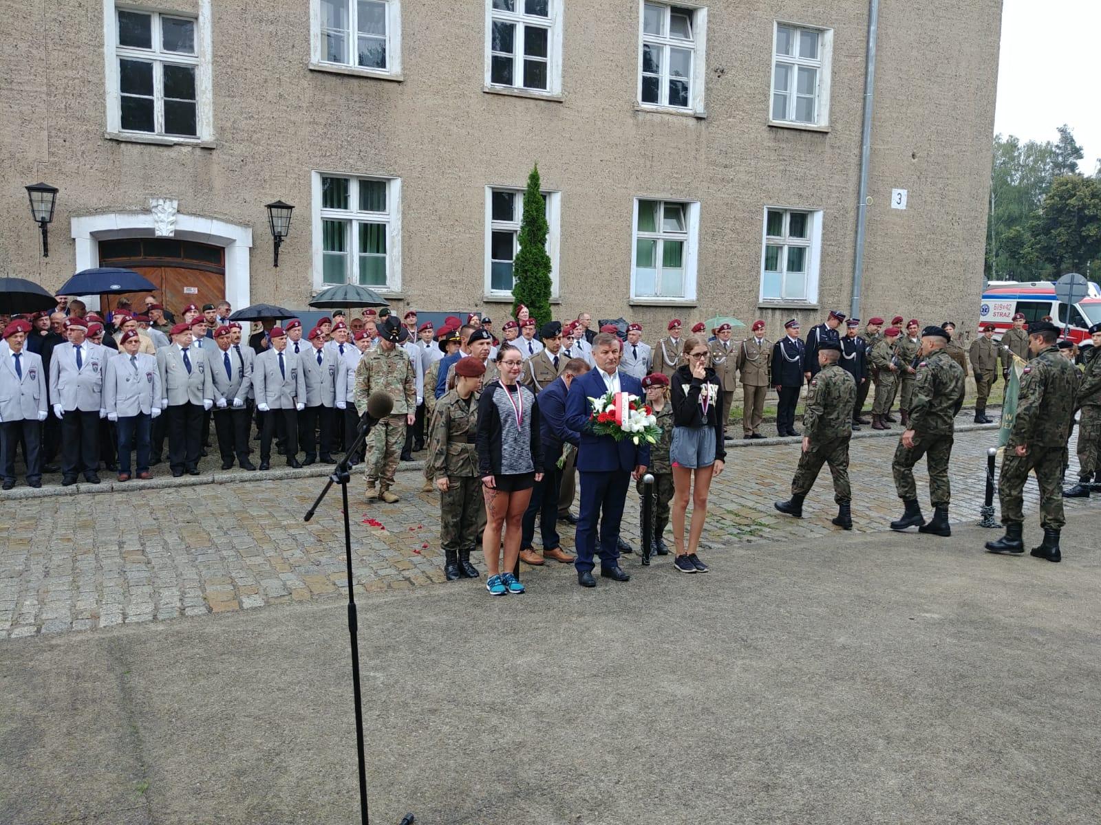 Ilustracja do informacji: Obchody 79. rocznicy wybuchu II wojny światowej w Bolesławcu