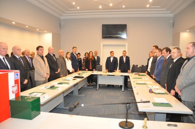 Ilustracja do informacji: I Inauguracyjna Sesja Rady Miejskiej w Zbąszynku