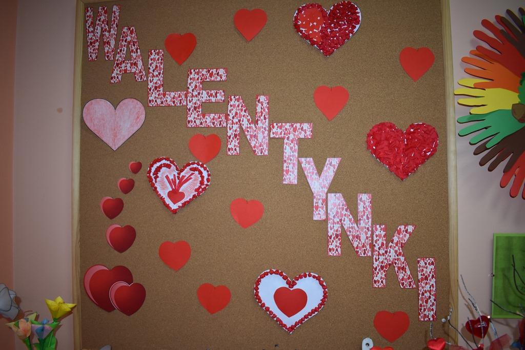 Ilustracja do informacji: Walentynki u Seniorów