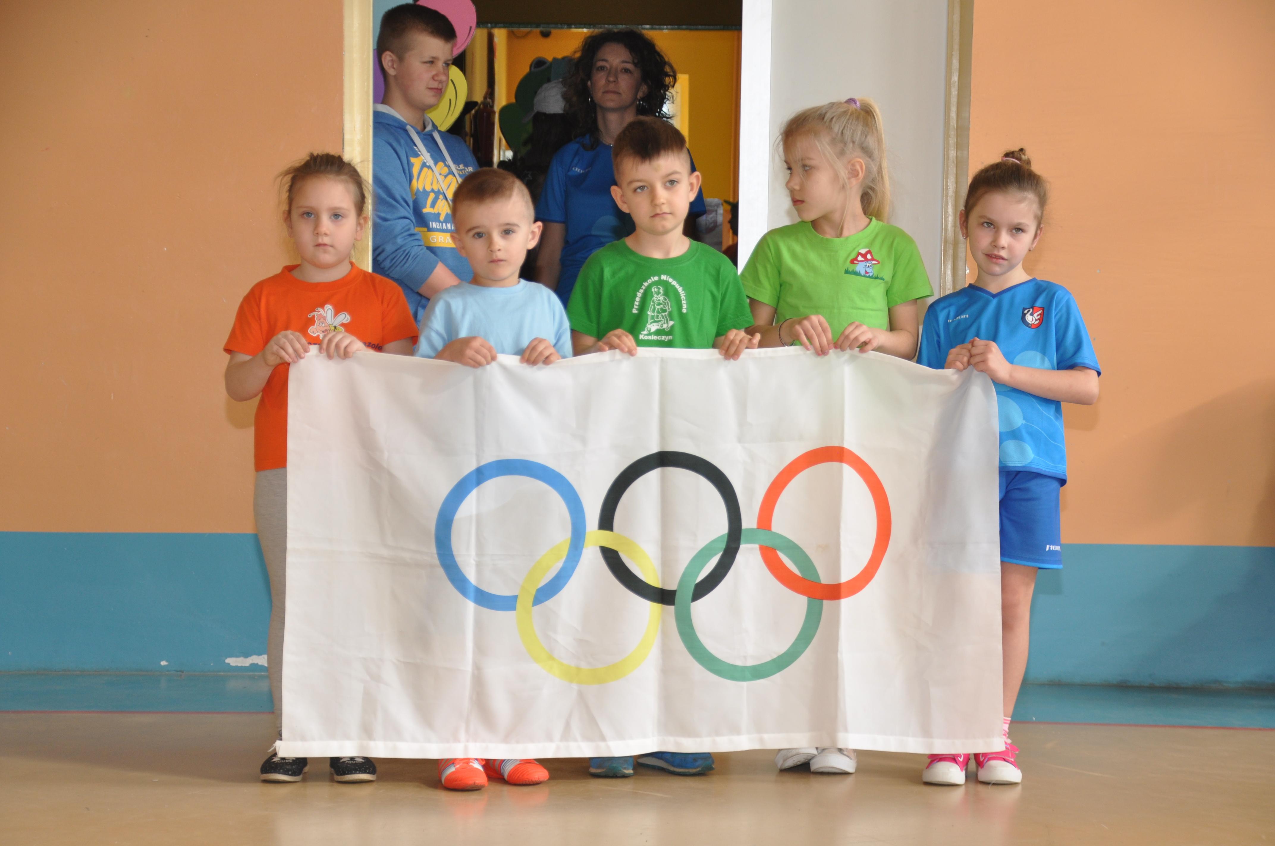 Ilustracja do informacji: X Olimpiada Przedszkolaków w Kosieczynie