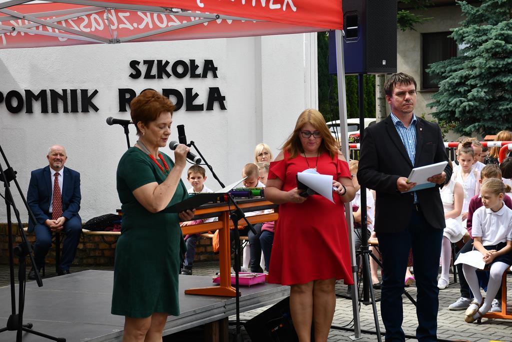 Ilustracja do informacji: Jubileusz 90-lecia Szkoły Podstawowej Pomnik Rodła w Dąbrówce Wielkopolskiej