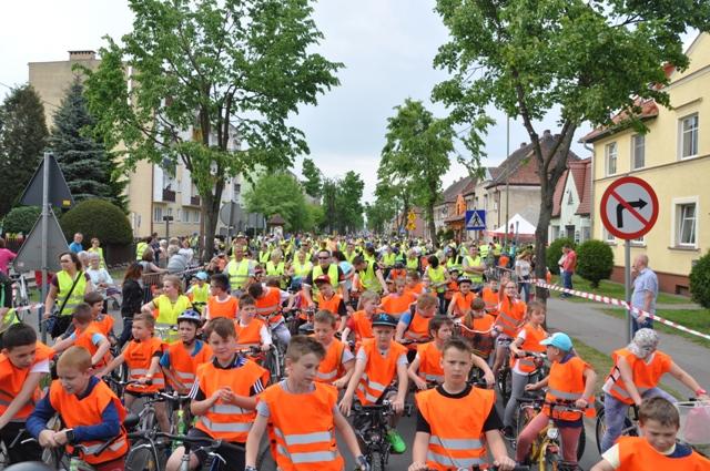 Ilustracja do informacji: Zbąszynek na rowery!