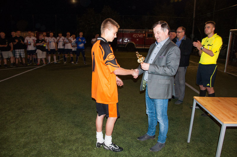 Ilustracja do informacji: Strażacki Turniej Piłki Nożnej o puchar Burmistrza Zbąszynka