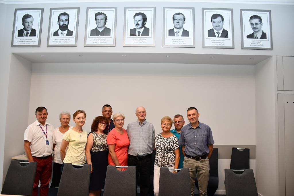 Ilustracja do informacji: Spotkanie Burmistrza z Naczelnikiem