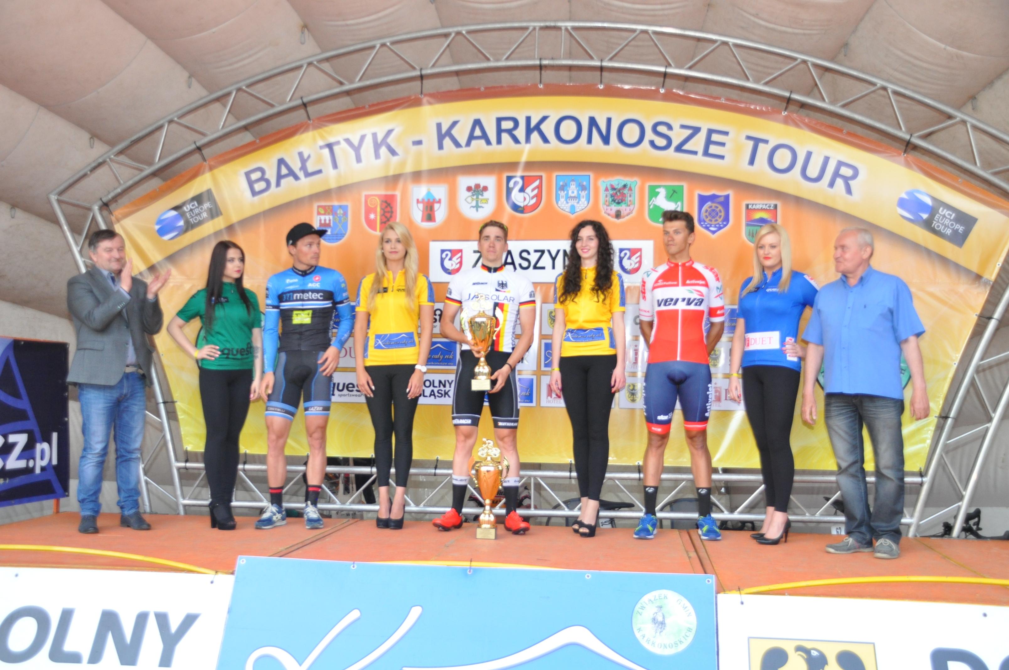 Ilustracja do informacji: XXIV Wyścig Kolarski Bałtyk Karkonosze Tour w Zbąszynku