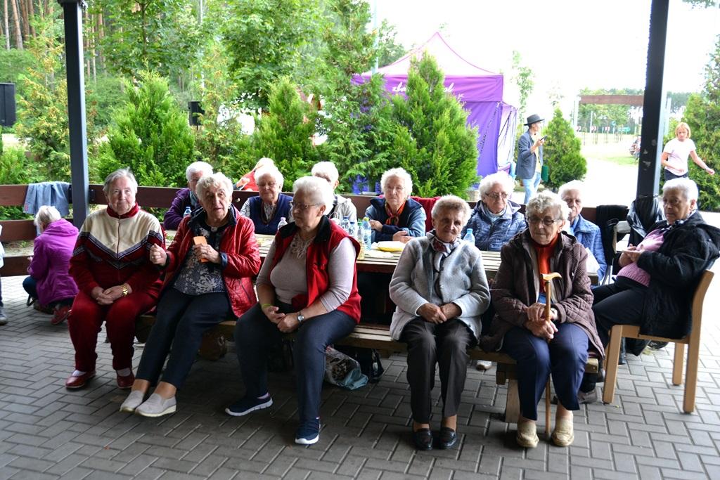 Ilustracja do informacji: Piknik seniorów na Jeziorku Koźlarskim