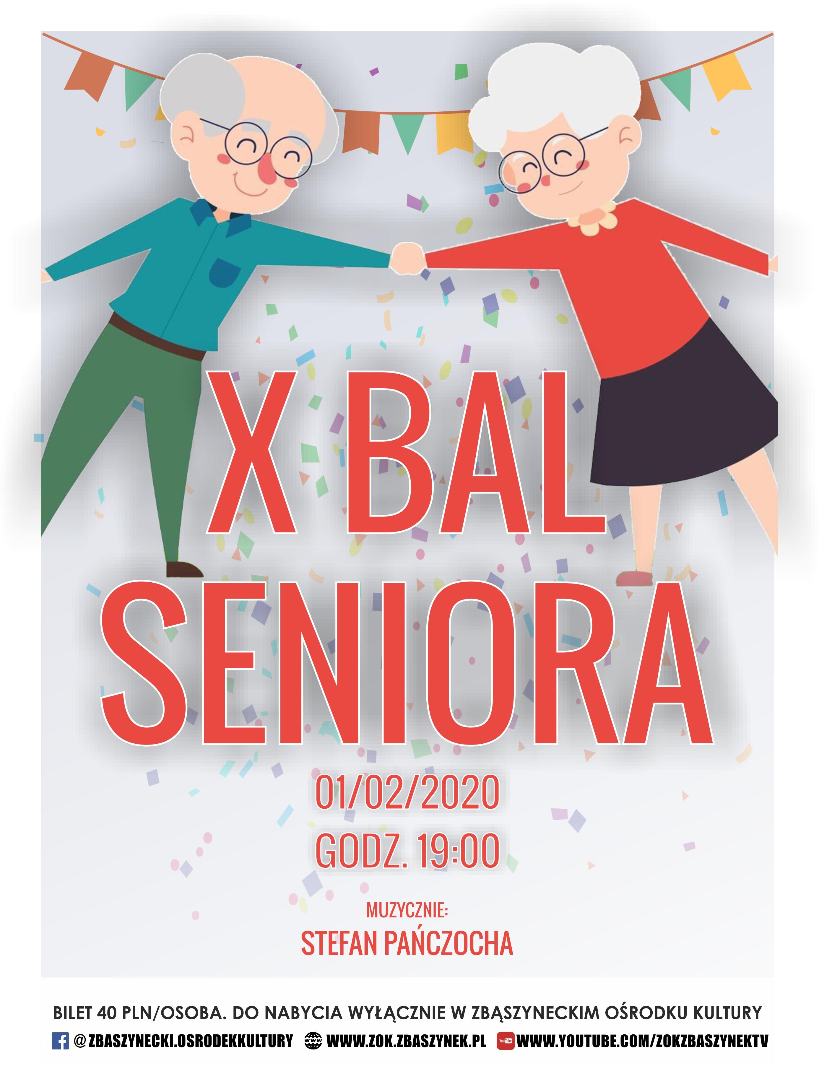 Ilustracja do informacji: X BAL SENIORA