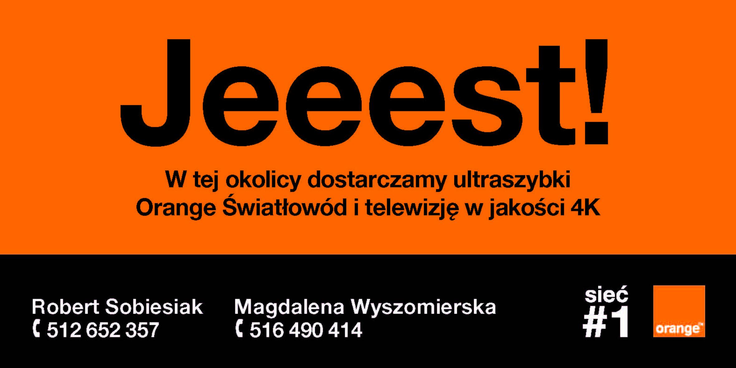 Ilustracja do informacji: Orange Światłowód już jeeest!