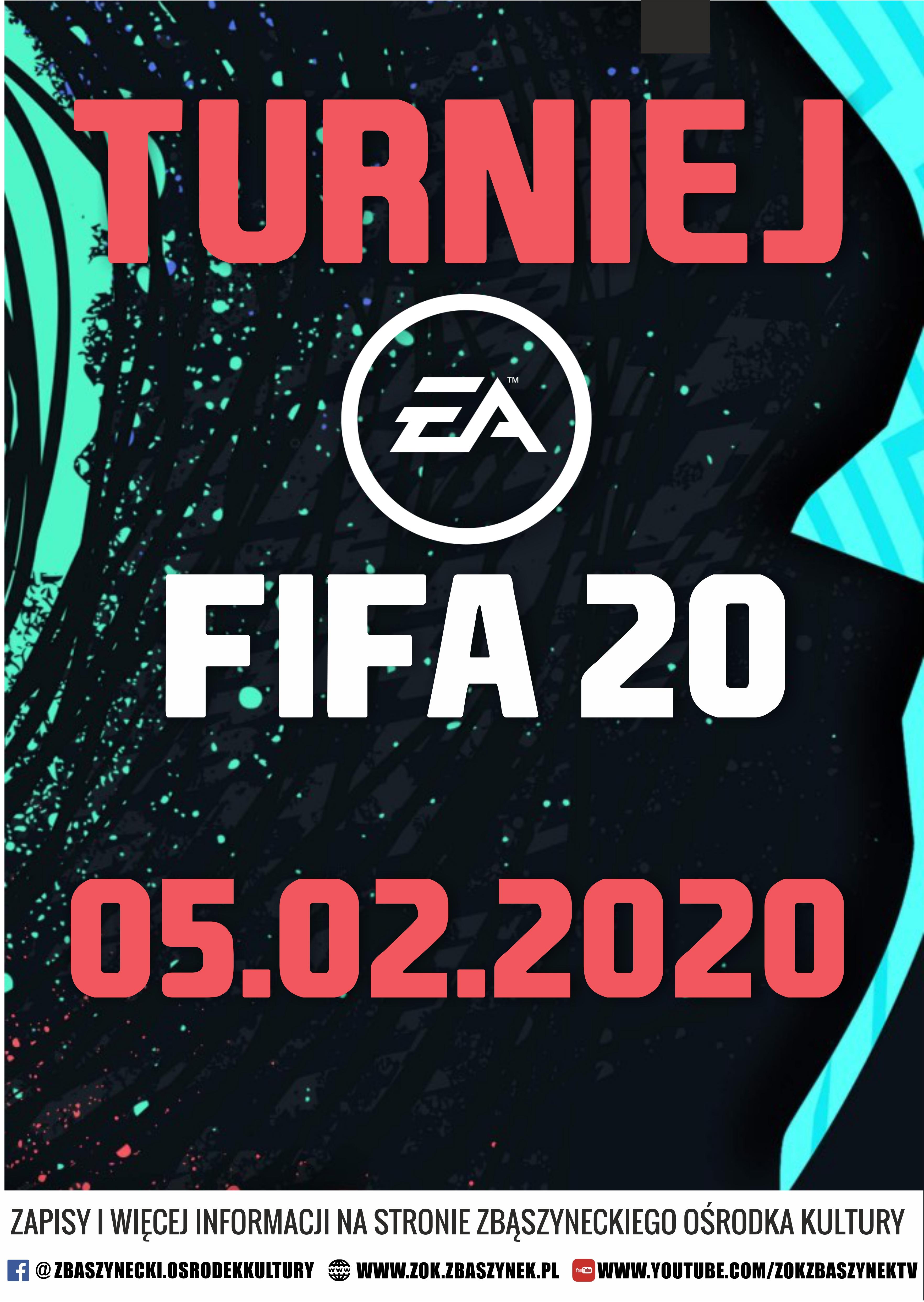 Ilustracja do informacji: ZBĄSZYNECKI TURNIEJ FIFA 20