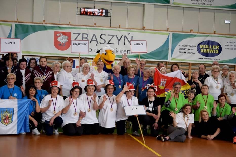 Ilustracja do informacji: II Igrzyska Sportowe Seniorów w Zbąszyniu