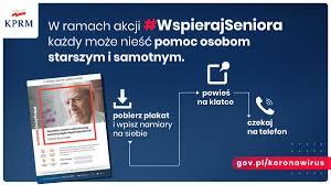 Ilustracja do informacji: #WSPIERAJSENIORA - Wsparcie dla seniorów – Informacje o działaniach w okresie epidemii koronawirusa