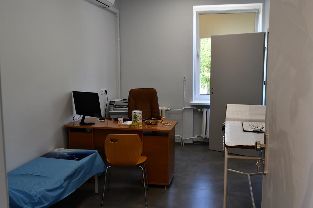 Ilustracja do informacji: Remont pomieszczeń poradni lekarskiej TOPMED