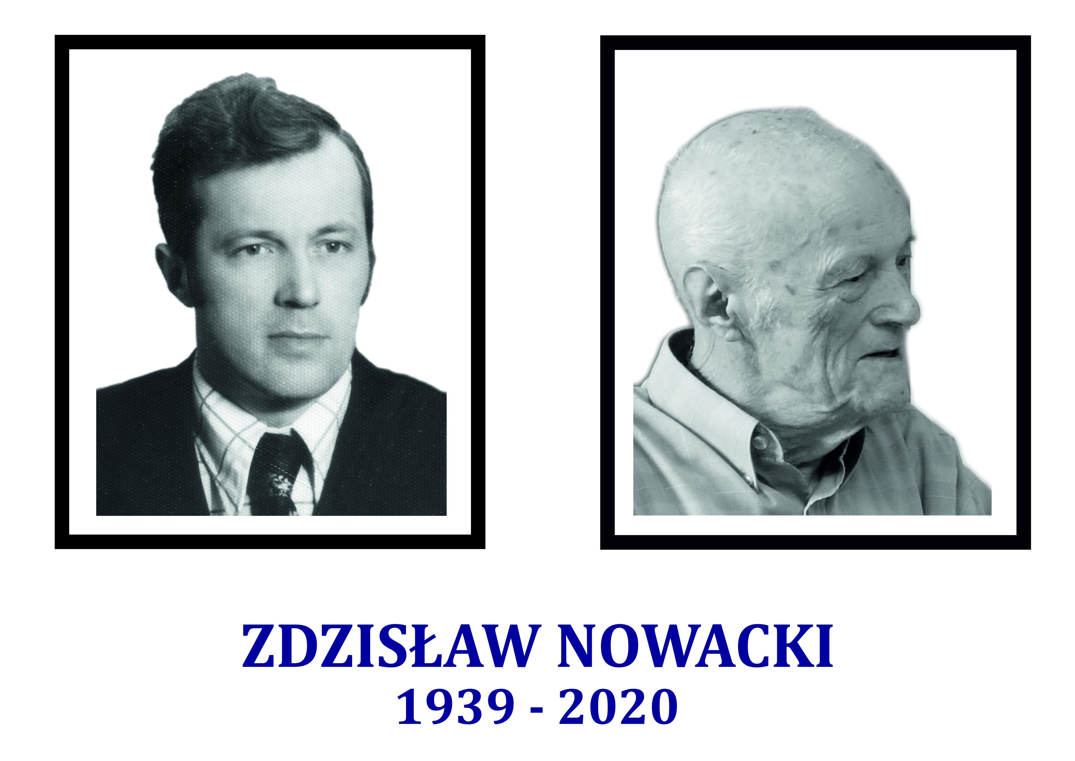 Ilustracja do informacji: Śp. Pan Zdzisław Nowacki