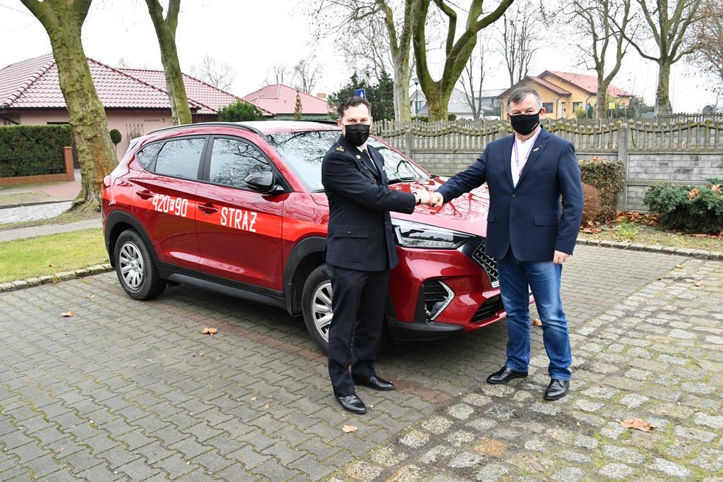 Ilustracja do informacji: Nowy samochód specjalny dla Komendy Powiatowej PSP w Świebodzinie
