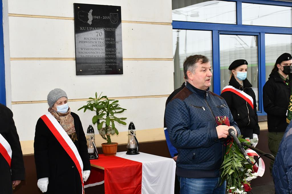 Ilustracja do informacji: 76 rocznica przyjazdu pierwszych wygnańców z Kresów Wschodnich do Zbąszynka
