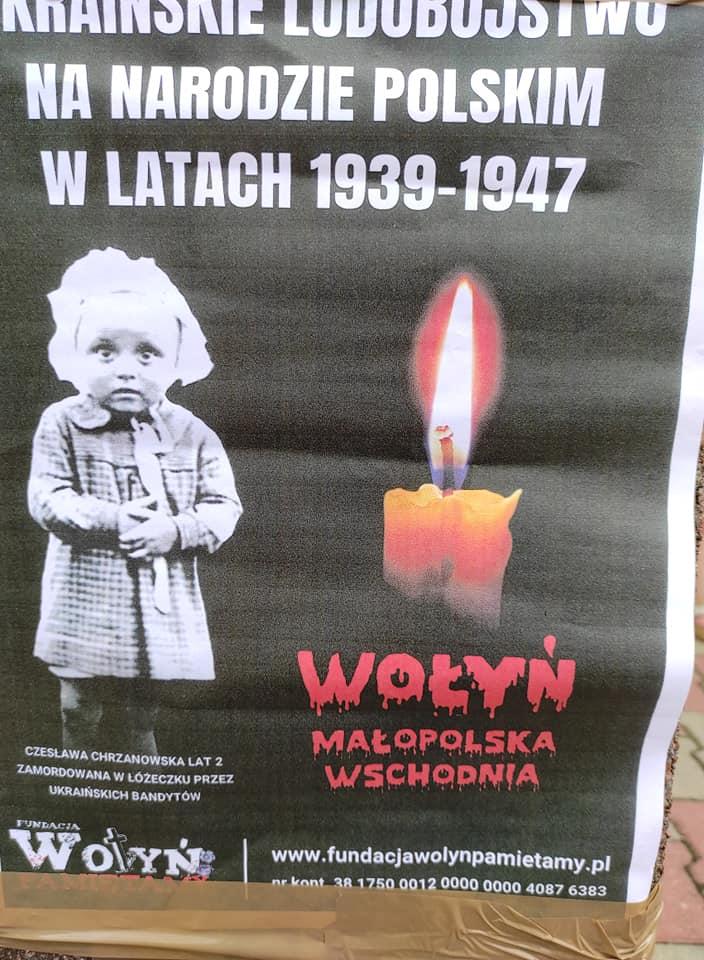 Ilustracja do informacji: 11 lipca- Narodowy Dzień Pamięci Ofiar Ludobójstwa. Upamiętnienie wydarzeń Krwawej Niedzieli na Wołyniu