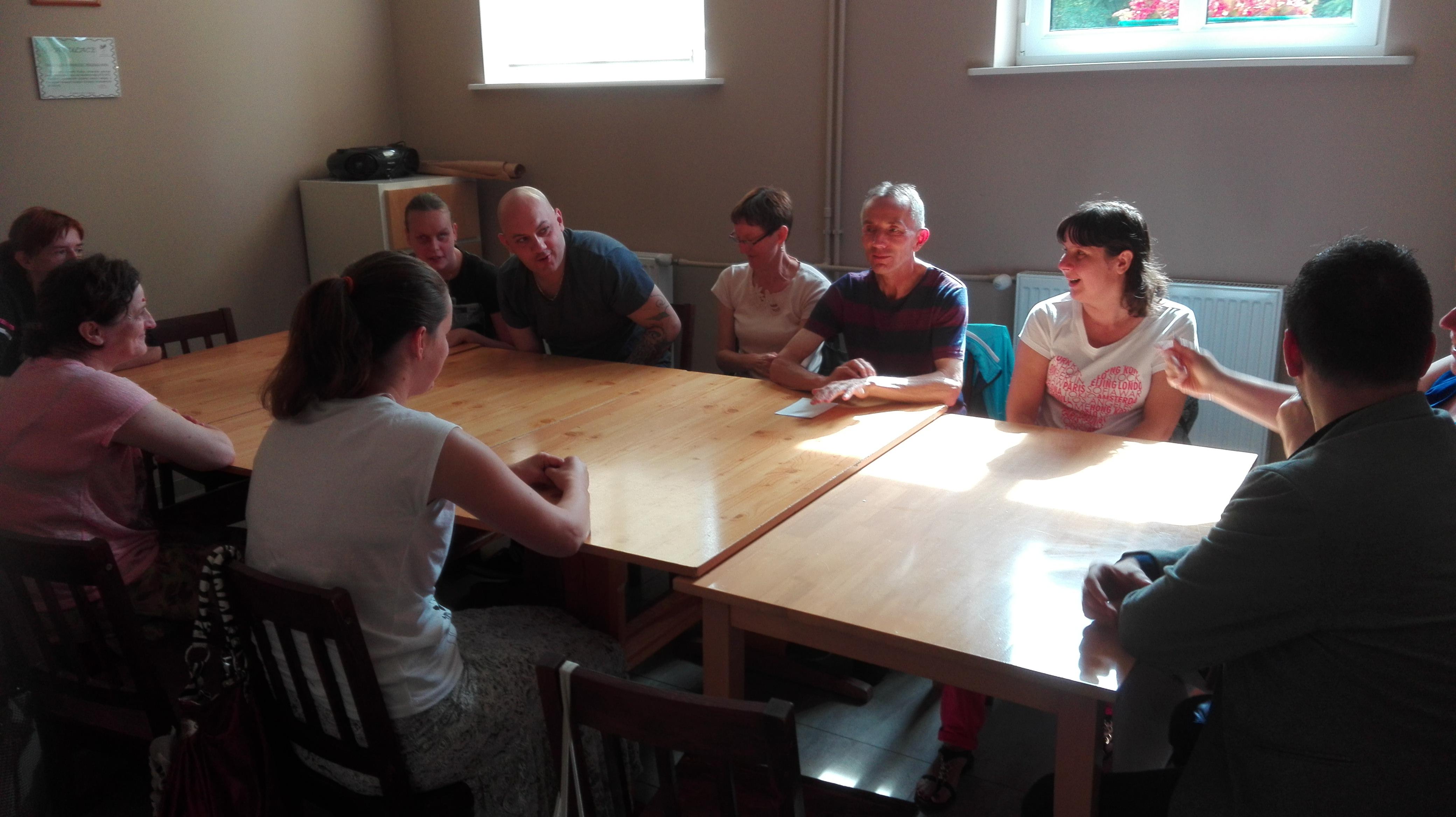 Ilustracja do informacji: Pierwsze spotkanie w ramach zajęć projektu Razem łatwiej