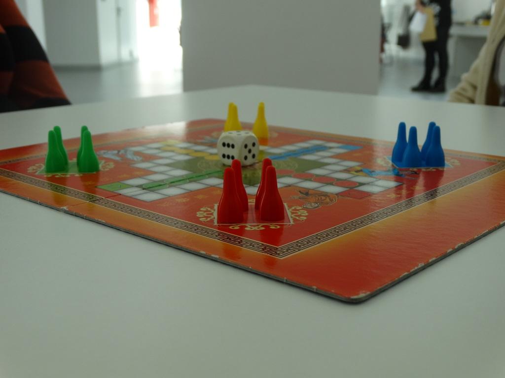Ilustracja do informacji: Turniej Chińczyka
