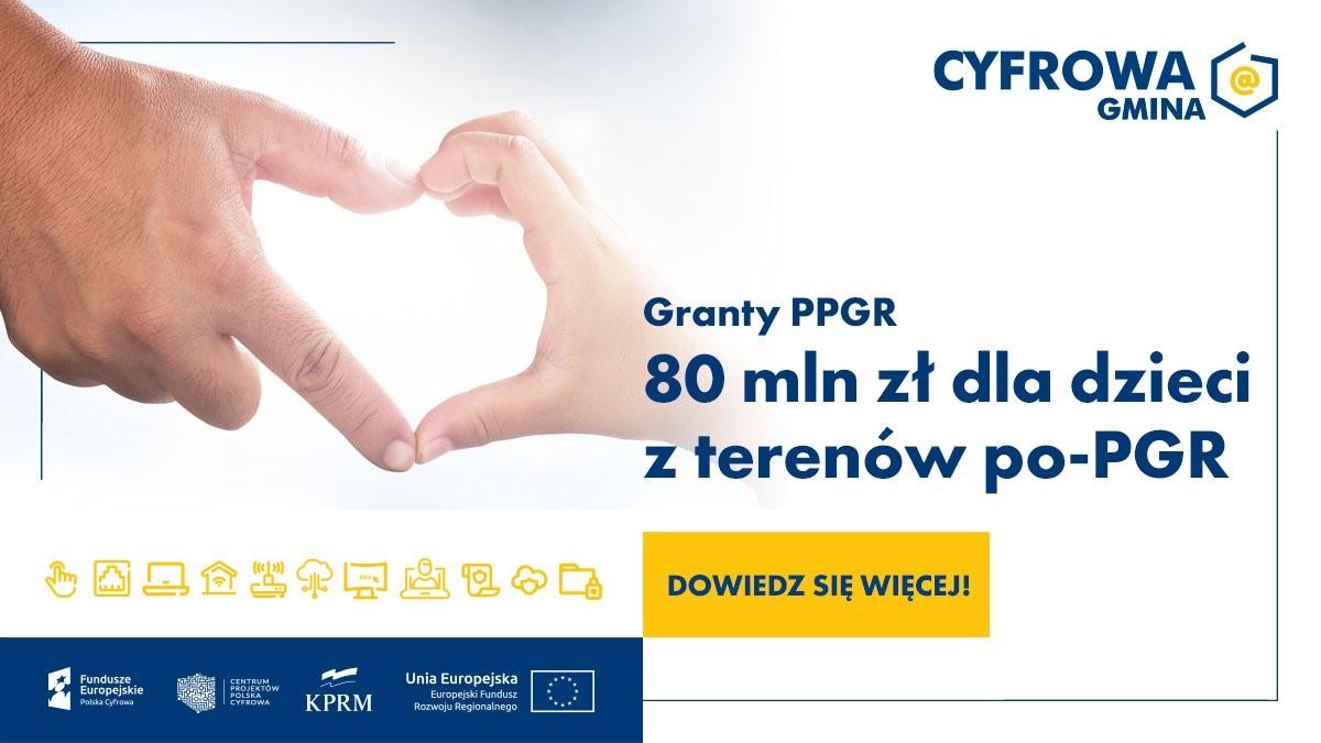 Ilustracja do informacji: Komputery dla dzieci z rodzin byłych pracowników PPGR