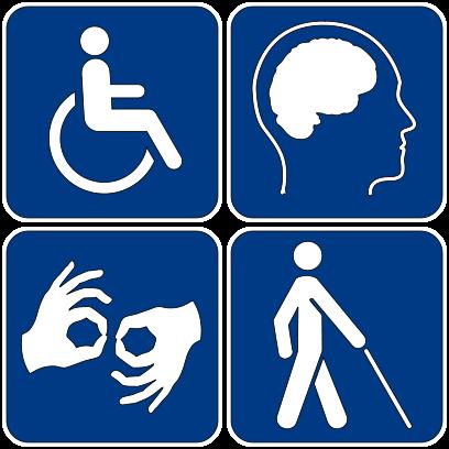 Ilustracja do informacji: Punkt Informacji i Wsparcia dla Niepełnosprawnych