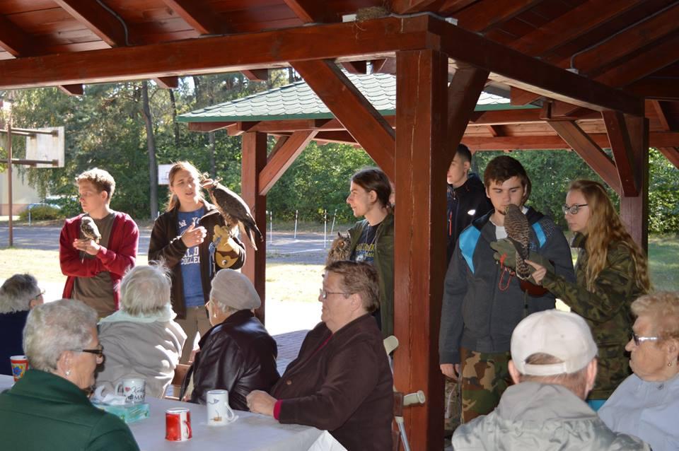Ilustracja do informacji: Wycieczka do Technikum Leśnego w Rogozińcu