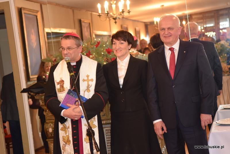 Ilustracja do informacji: Noworoczne spotkanie Wojewody Lubuskiego