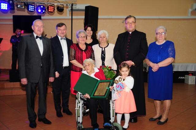 Ilustracja do informacji: 100. urodziny mieszkanki Gminy Zbąszynek