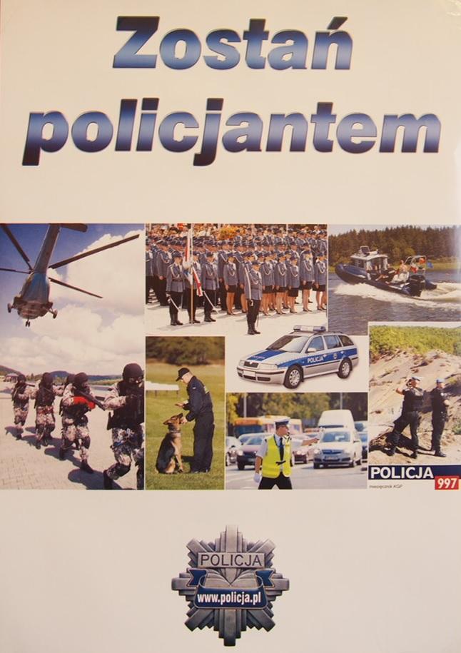Ilustracja do informacji: Zostań policjantem, wstąp w szeregi!