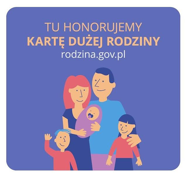 Ilustracja do informacji: Ogólnopolska Karta Dużej Rodziny