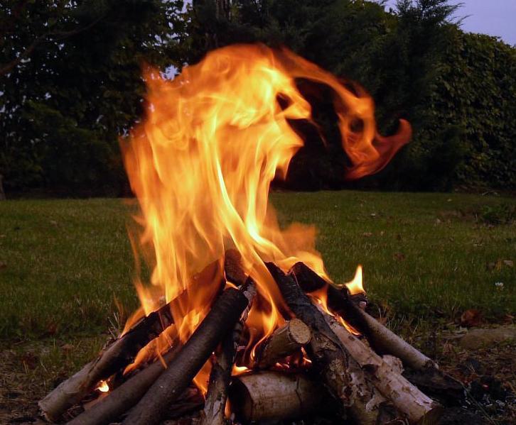 Ilustracja do informacji: Komunikat w sprawie spalania gałęzi, liści, trawy itp.!