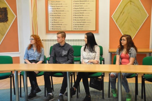 Ilustracja do informacji: Spotkanie z młodzieżą