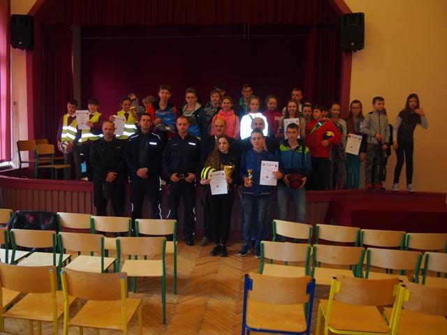 Ilustracja do informacji: Powiatowy etap konkursu Bezpieczeństwa Ruchu Drogowego
