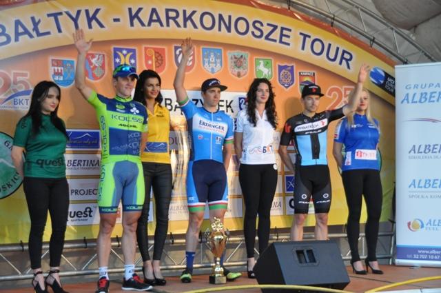 Ilustracja do informacji: XXV Międzynarodowy Wyścig Kolarski Bałtyk - Karkonosze Tour w Zbąszynku