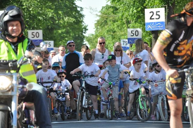 Ilustracja do informacji: Zbąszynek na rowery 2017