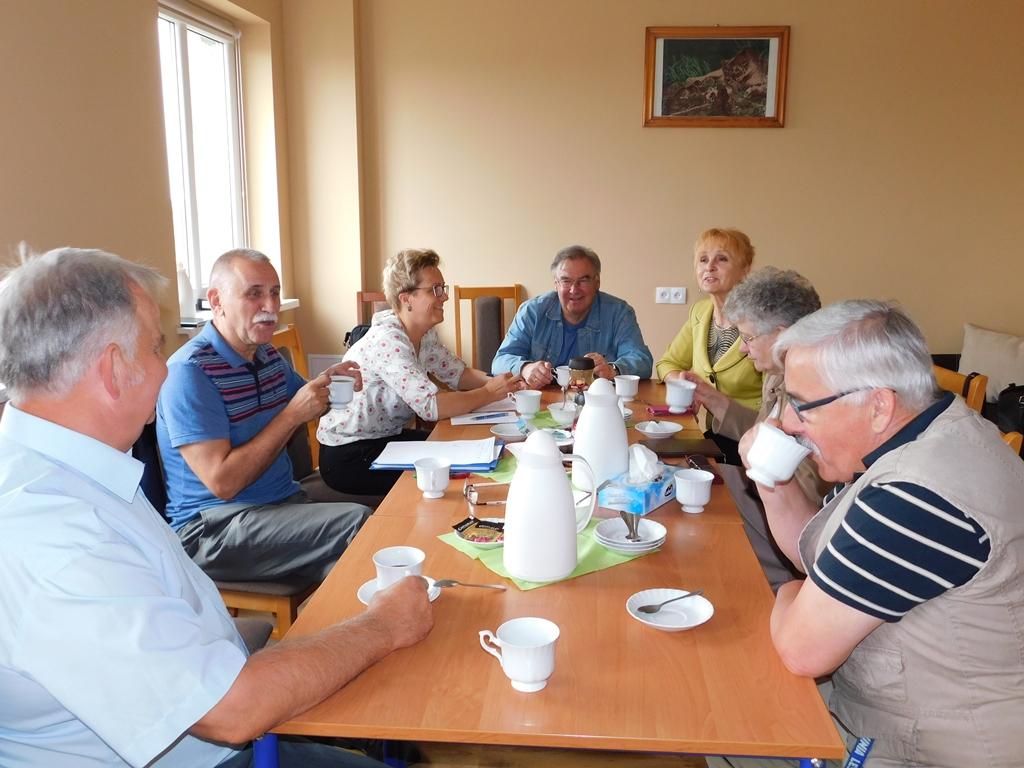Ilustracja do informacji: Pierwsze spotkanie Zarządu Rady Seniorów Gminy Zbąszynek