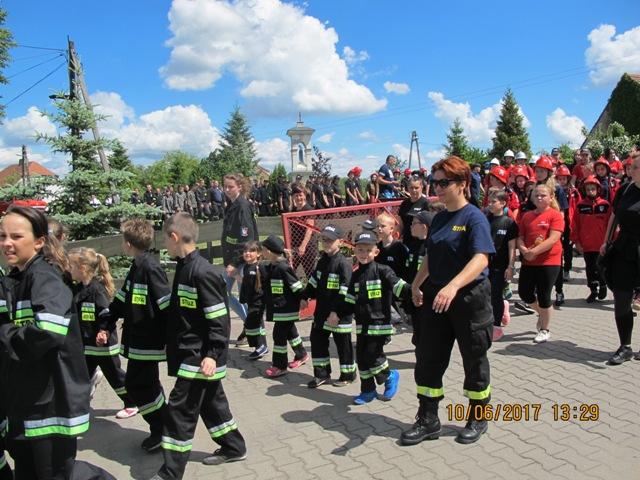 Ilustracja do informacji: Gminne Zawody Sportowo – Pożarnicze drużyn Ochotniczych Straży Pożarnych
