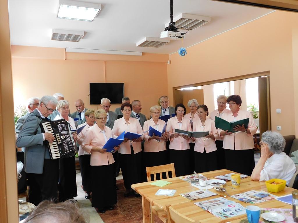 Ilustracja do informacji: Zespół Śpiewaczy Dąbrowszczanka